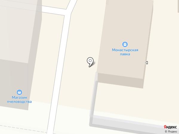 Монастырская лавка на карте Благовещенска
