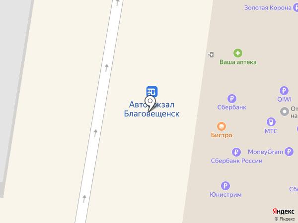 Gauranga на карте Благовещенска