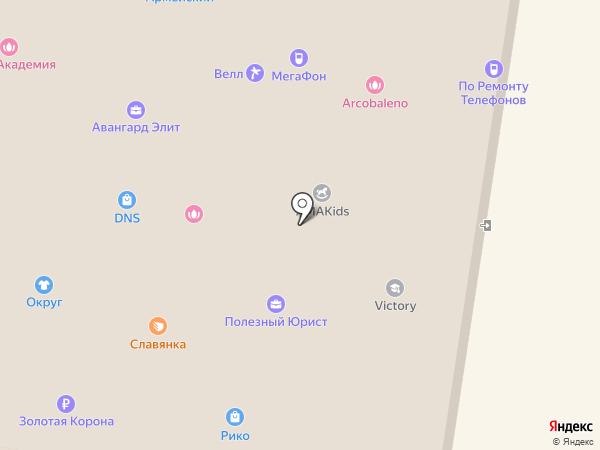 Любимый на карте Благовещенска