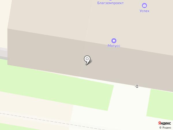 Парнас на карте Благовещенска