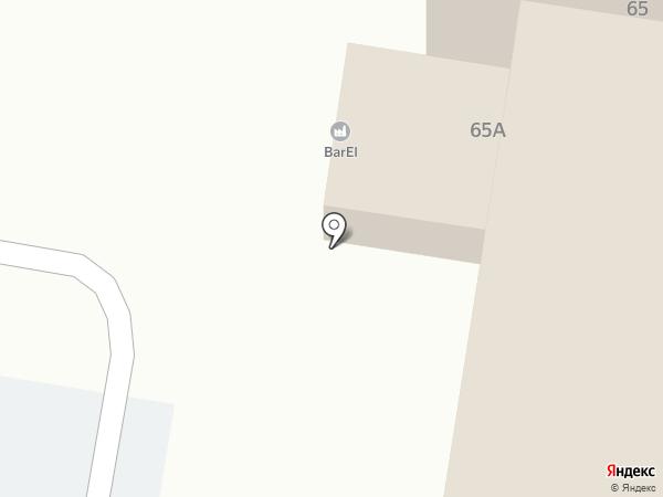 Мегабит на карте Благовещенска
