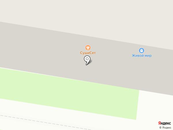 Конфеткин дом на карте Благовещенска