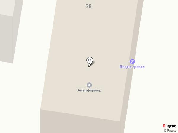Компания по продаже товаров для здоровья на карте Благовещенска