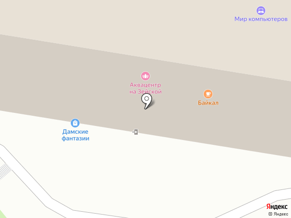 КОНТИНЕНТ.ТУР на карте Благовещенска