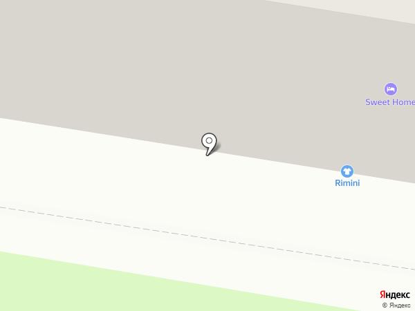 Rimini на карте Благовещенска