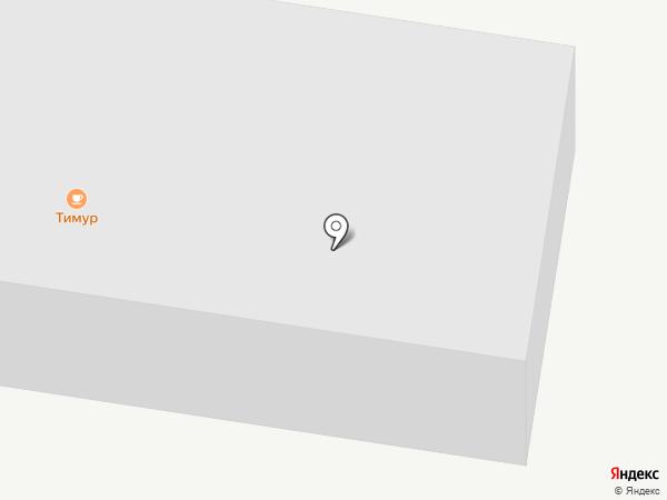Амурский Строитель на карте Благовещенска