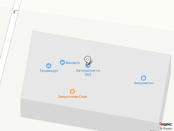 Труд на карте Благовещенска