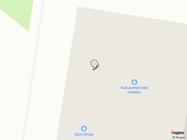 Магазин канцелярских товаров на карте Благовещенска