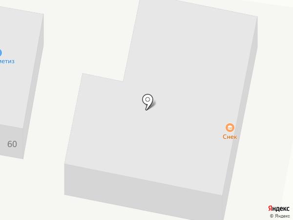 Снэк на карте Благовещенска