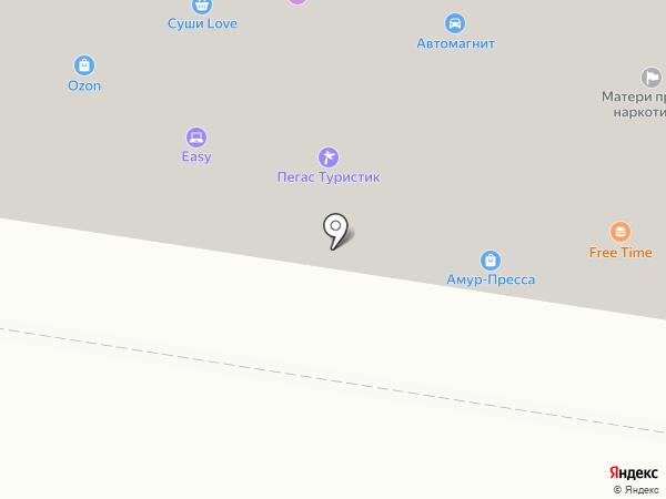 ИНВИТРО на карте Благовещенска
