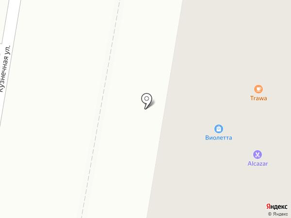Копирка на карте Благовещенска