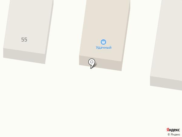Удачный на карте Благовещенска