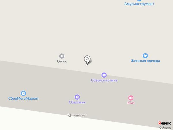 АмурИнструментЦентр на карте Благовещенска
