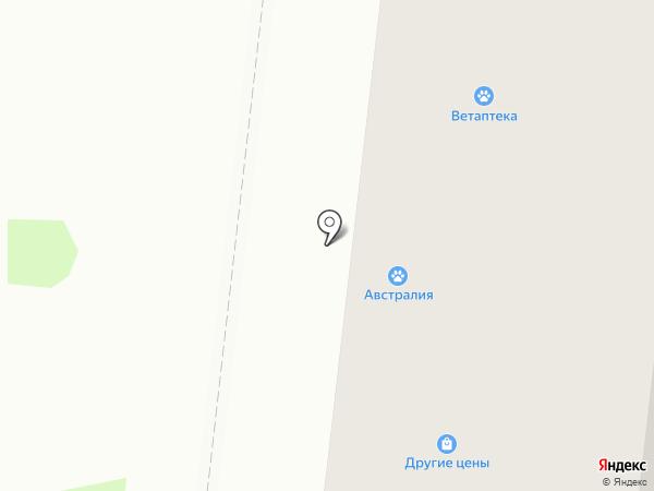 Австралия на карте Благовещенска
