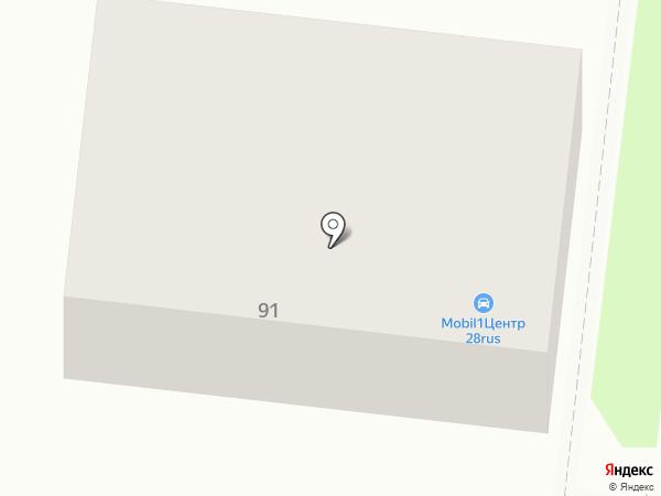 ОптТоргСервис на карте Благовещенска