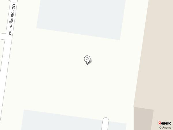 Визон на карте Благовещенска