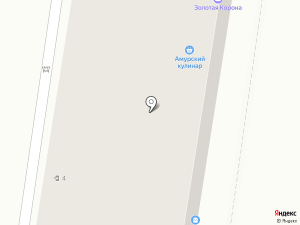 Амурский кулинар на карте Благовещенска
