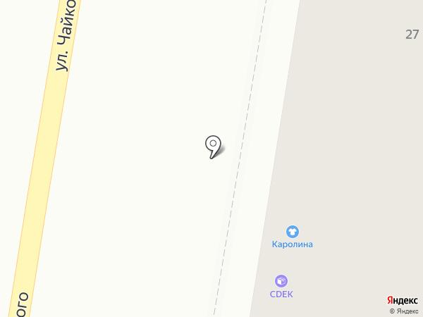 Сбытснаб на карте Благовещенска