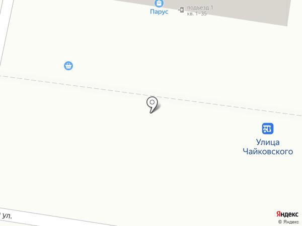 Апельсин на карте Благовещенска