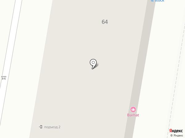 BARHAT на карте Благовещенска