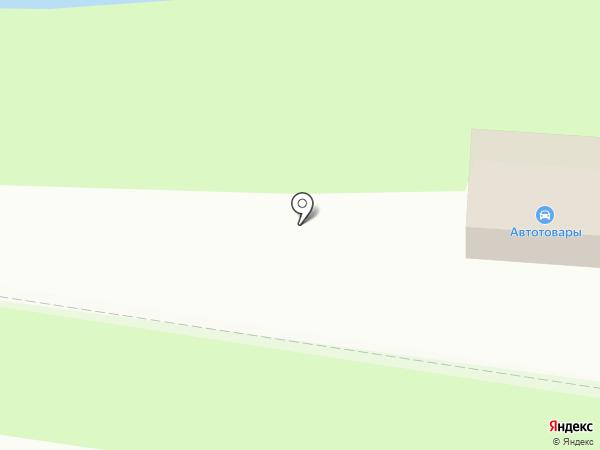 Магазин автотоваров на карте Благовещенска