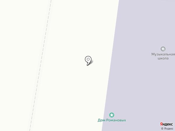 Школа №2 города Благовещенска на карте Благовещенска