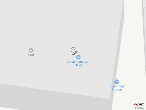 АНДЕГРАУНД на карте Благовещенска