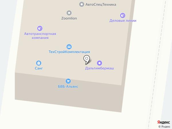 Интер-Сервис на карте Благовещенска