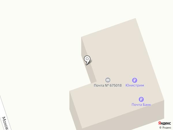 Почтовое отделение №18 на карте Моховой-Пади