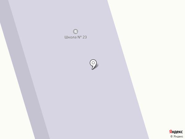 Школа №23 с дошкольным отделением на карте Моховой-Пади