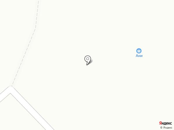 Ани на карте Моховой-Пади