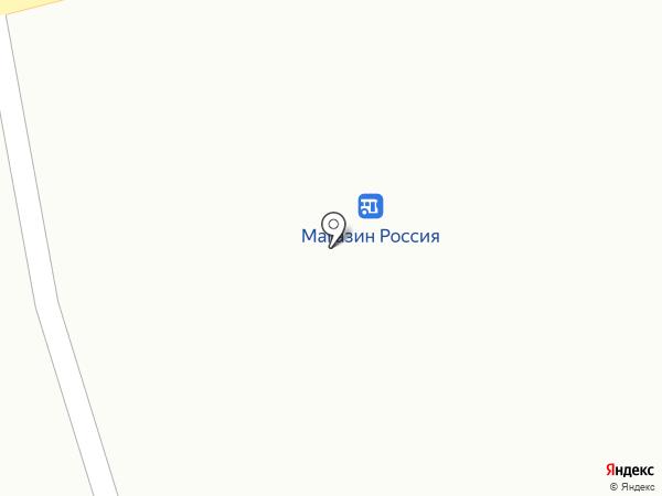 Киоск по продаже печатной продукции на карте Моховой-Пади