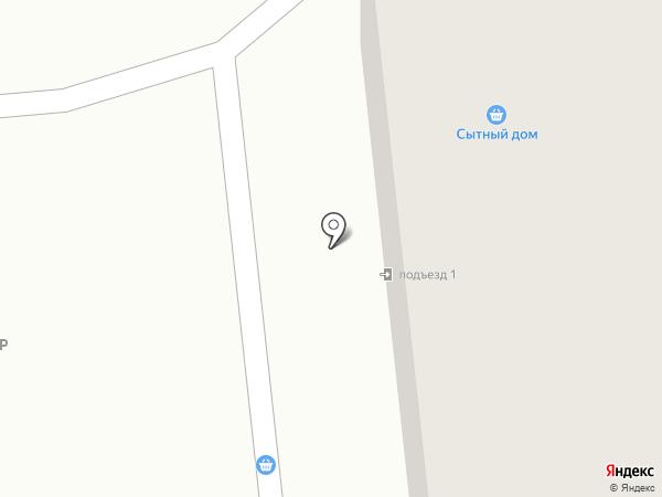 Парус на карте Моховой-Пади