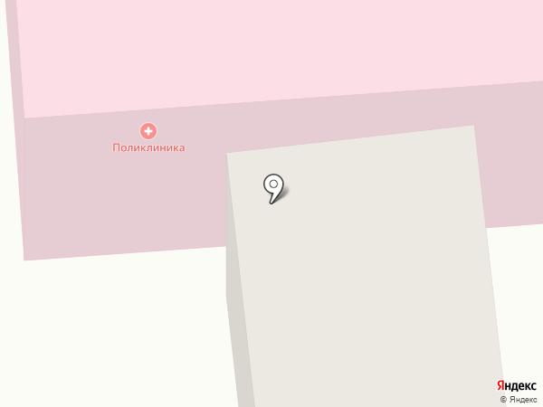 Детская поликлиника №1 на карте Моховой-Пади