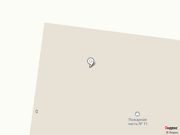 Пожарная часть №11 по охране с. Табага на карте Табаги