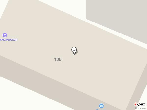 Птичка на карте Якутска