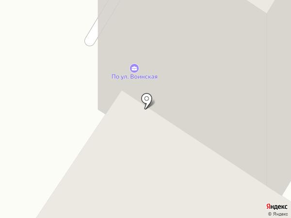 Строймонтаж-2002 на карте Якутска