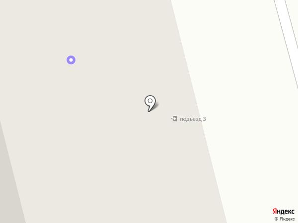 Строев И.Я. на карте Якутска