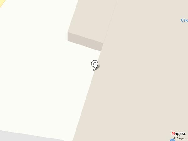 Айыына на карте Якутска