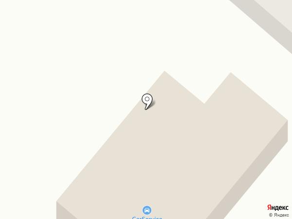 CarService на карте Якутска