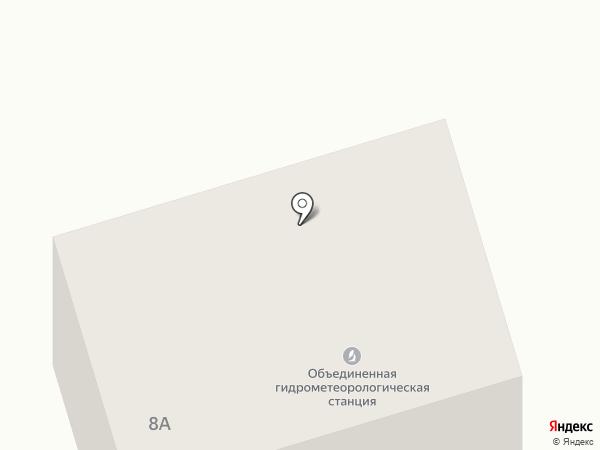 Объединенная гидрометеорологическая станция Якутск на карте Якутска