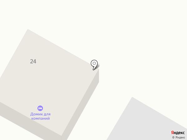 Домик для компании на карте Якутска