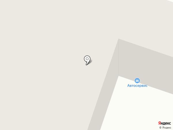Автостиль на карте Якутска