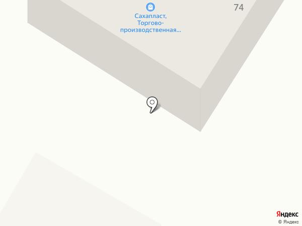 Эрэл на карте Якутска