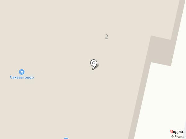 Люструм на карте Якутска