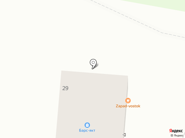 Гадкий Койот на карте Якутска
