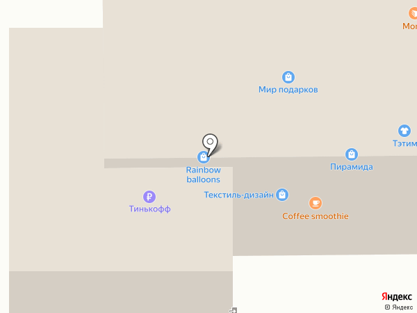 Русский огород на карте Якутска