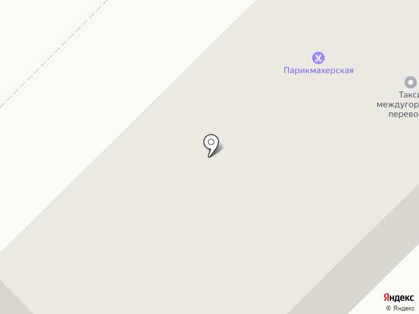 Парикмахерская на карте Якутска