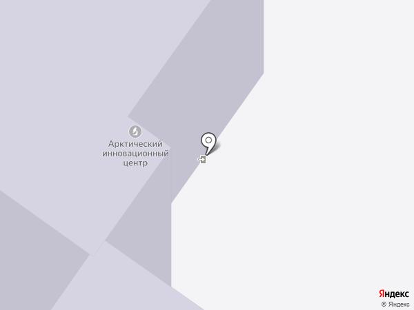 Сахавеб на карте Якутска