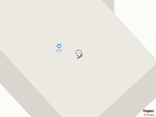 СТС на карте Якутска